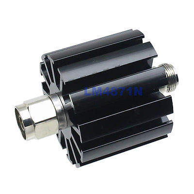 лучшая цена 30W Attenuator 30 Watts DC-3 Ghz 40dB RF coaxial Power plug M to Jack F 50 ohm N.