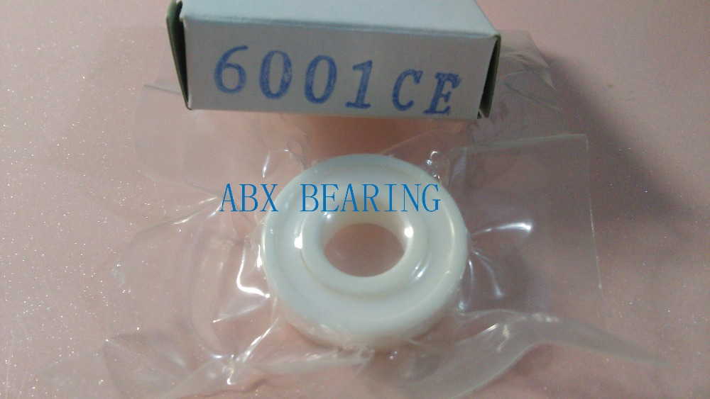 6001-2RS 6001 2RS 6001RS Ceramic bearing full ZrO2 ceramic ball bearing 12x28x8 mm 12*28*8 mm abxg 23327 2rs speed connection drum bearing 23327 2rs for sram bicycle hub repair parts bearing 23x32x7 mm 23 32 7 mm