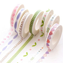 1 Pcs Sangat Slim Series Washi Tape Anak-anak Seperti DIY Diary Dekorasi Masking Tape Stationery Scrapbooking Alat(China)