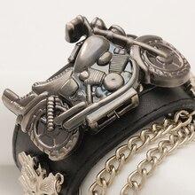 De alta qualidade da moda Escorpião cavaleiro Cover up Avant-garde relógio menina relógios de couro relógios de quartzo relógio das mulheres dos homens do partido quarto