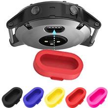 1 sztuk Smartwatch pasek zegarka wtyczka czujnika anti-kurz osłona pyłoszczelna Cap dla Garmin Fenix 5 5s 5x urządzenia przenośne smartwatch #627 tanie tanio OMESHIN Other english Dla dorosłych