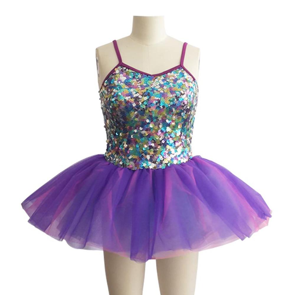 Vaikiškos suknelės mergaitėms Vaikų šokių kostiumas Vaikų pavasario drabužiai Nauji drabužiai ir ryškios spalvos suknelės baleto kostiumai