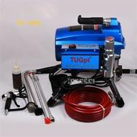 New TP 495 Electric High Pressure Sprayer Airless Sprayer Brushless Electronic Regulator Paint Sprayer 220V 3000W 23Mpa 10L/Min