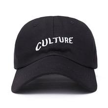 45f0149701d42 2017 new Migos Culture Hat - Black Dad Cap Hip hop Rap Album Bad And Boujee  men women baseball cap fashion Hip hop