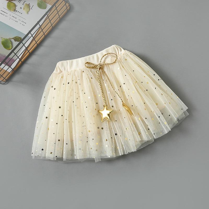 Kids Meisjes Kleding 2018 Zomer Sequin Sterren Bows Dansen Tulle - Kinderkleding - Foto 2