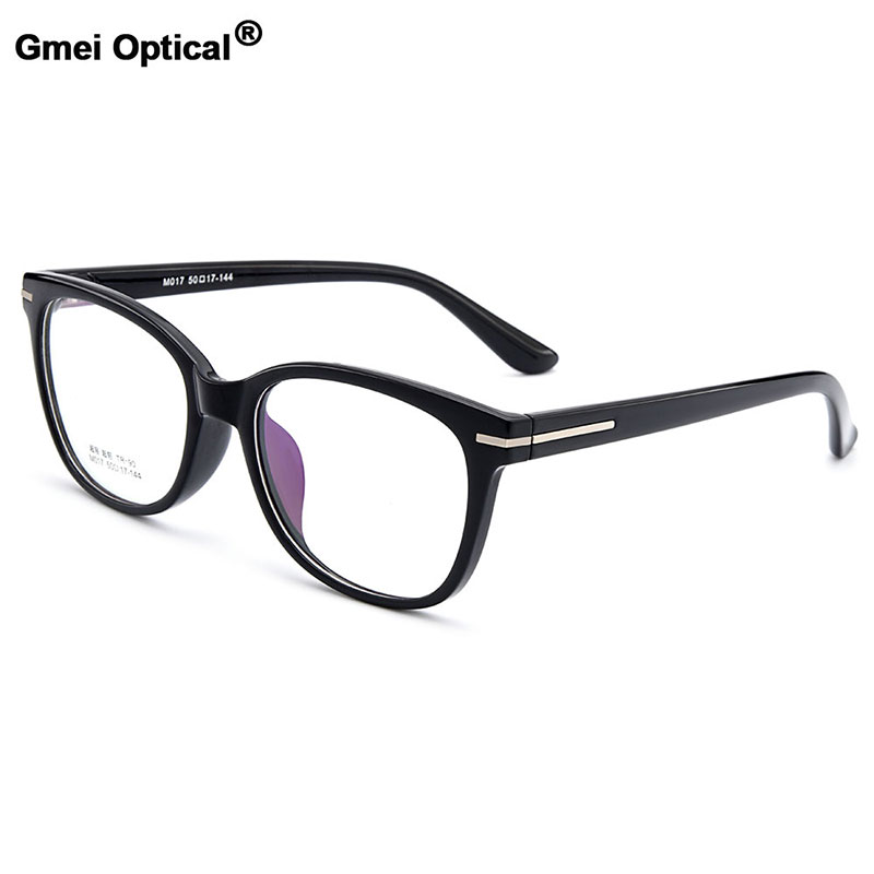72d92d5cb1fce Gmei Optical Fashionable Urltra-Light TR90 Women Round Full Rim Optical  Eyeglasses Frames Female Plastic