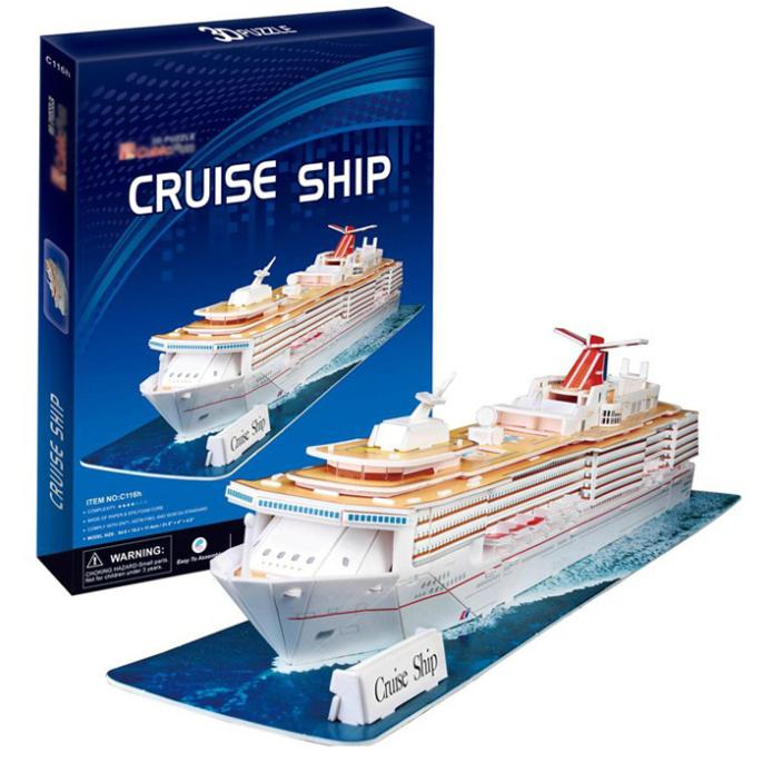 New Cruise Ship D Model Paper Kids Creative Educational Gift EBay - Educational cruise ships