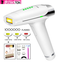 100% Original Lescolton 1000000 times IPL Permanent Laser epilator Hair Removal Machine Body Face Lescolton Laser Hair Removal