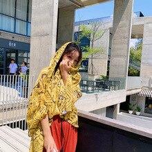 1 Piece Fashion Elegant Floral Pattern 180x90cm Women Sunscreen Cotton Linen Beach Scarf Silk Shawl wraps bandana beach hijab