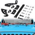 Chuang Qian Hi Lift Jack крепление капота шарнир дверная петля кронштейн комплект для 2007-2019 Jeep Wrangler JK JL