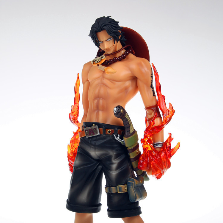 ФОТО NEW 1pcs 26CM pvc anime figure big size one piece Portgas D Aceaction figure collectible model toys brinquedos