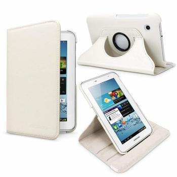 Para Samsung Galaxy Tab 2 7,0 caso 360 abatible con rotación Funda...
