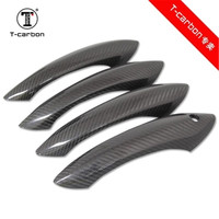 Sticker Carbon Fiber Car Door Handle decoration trims for BMW 5 6 7 Series F6 F07 F10 F18 F12 F13 F01 F02 F10 M6 F12 Car Styling