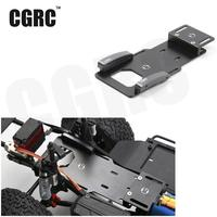 1/10 RC Crawler Low Center Of Gravity Battery Bracket Metal Battery / Esc Relocation Plate For Axial SCX10 II Ax90046
