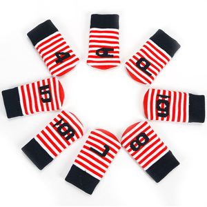 Image 3 - PLAYEAGLE 10 Pcs Iron Head Covers Knitted Golf Head Protector Colorful Stripe New