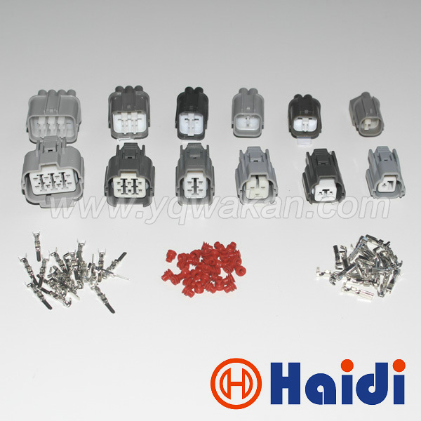 Free shipping 1set complete Honda B-Series OBD1 Dsitributor 1p-2p-3p-4p-6p-8p male and female Connector 6189-0132 6189-0134 цена и фото