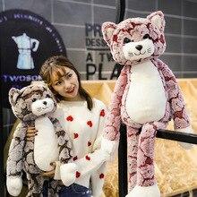 Горячая 70 см Большой размер милая плюшевая кукла кошка, мягкая плюшевая игрушка кошка для девочки.