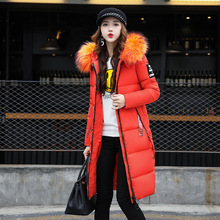 Women Spring Autumn Jacket Hooded Fur Collar Parkas Long Womens Winter Jackets And Coats Large Size Women Jacket Parka Mujer 2015 new winter jacket women thicken long outerwears women coats long winter jackets big fur hooded womens jackets coats h5319