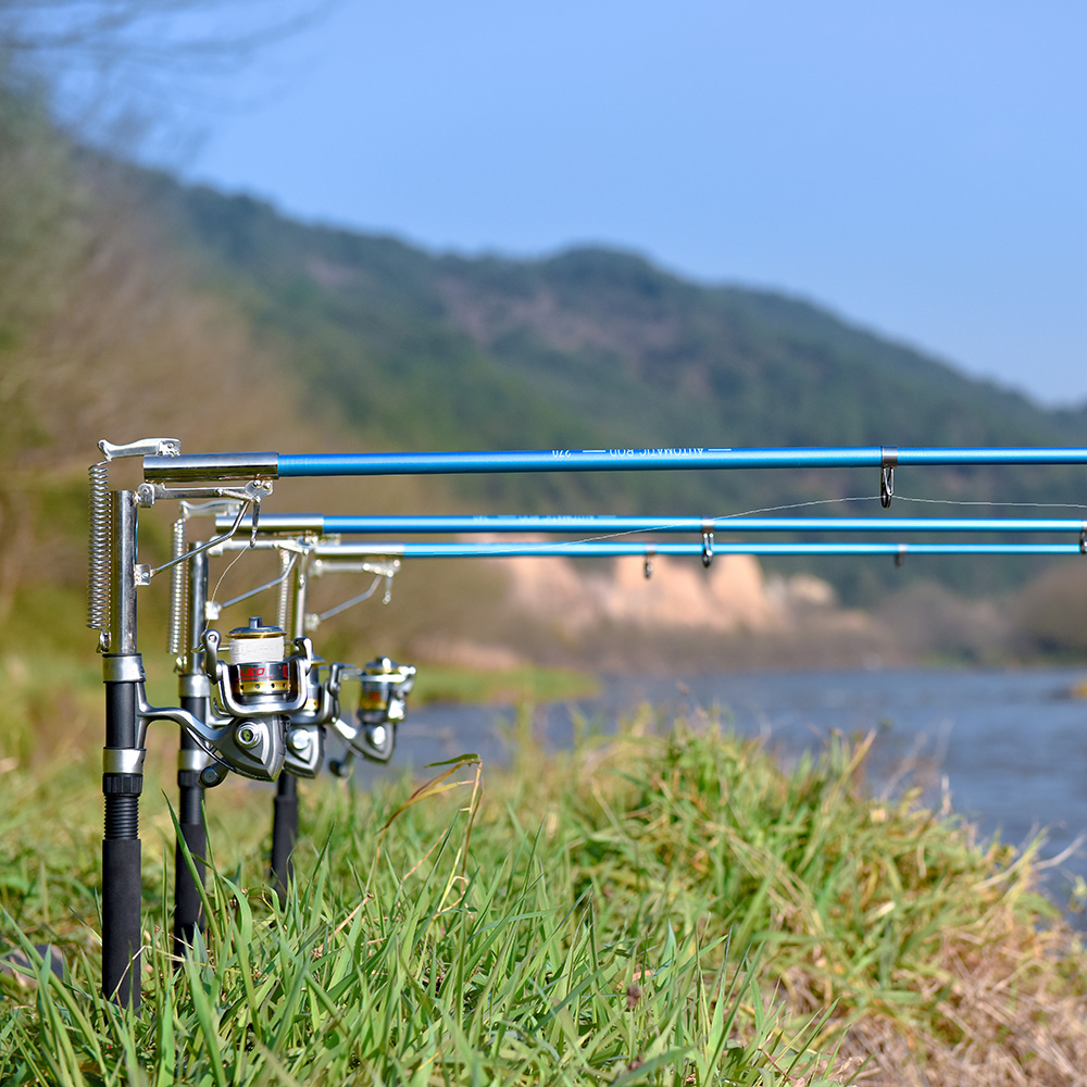 Lixada Fishing-Rod Telescopic Spinning Automatic Pole-Sea-Shore Tackle-Pesca River-Lake title=