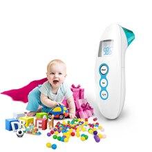 2019 Muti-fuction Baby Digital Termomete Infrared Forehead Ear Body Thermometer Gun Non-contact Temperature Measurement Device стоимость
