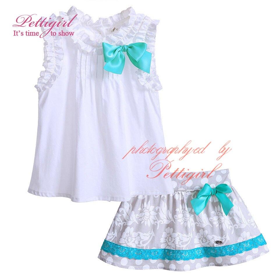 63ab602d2b56 Aliexpress.com : Buy Pettigirl New Summer Cotton Print Girl Clothing ...