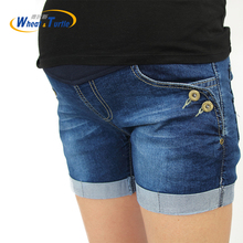 Hot Sale 2017 Summer New Arrival Maternity Fashion Short Jeans Denim Hot Pants For Pregnant Women