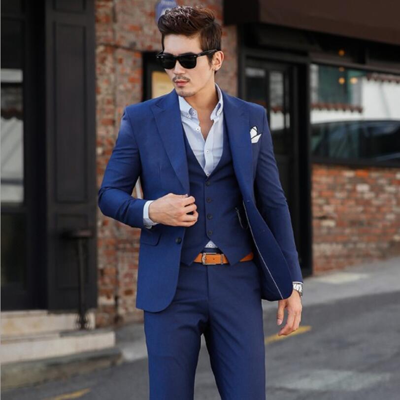 5f46a805 Picture Slim Traje chaqueta As Clásico Oscuro Trajes as Casamiento Para  Fiesta Pantalones Hombres Caballeros Los ...