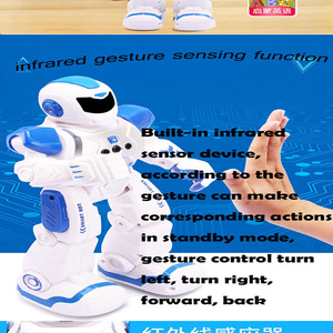 USB Charging Robot Toy RC Gest