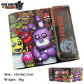 Five Nights At Freddys Style Short Biofold Wallet Purse Bag Gift Boys Girls