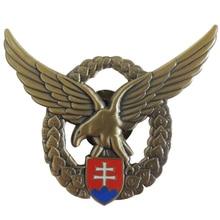 3D Design Mold Beats Badge Antique Gold Eagle Logo Metal