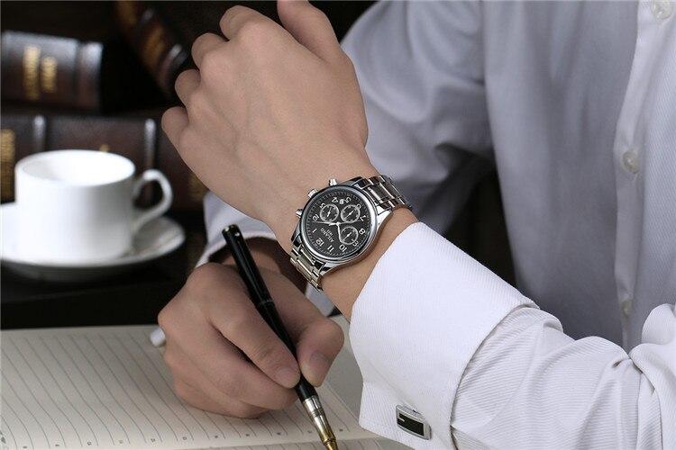 Masculino Relogios AILANG karóra férfiak üzleti ruha órák - Férfi órák - Fénykép 6
