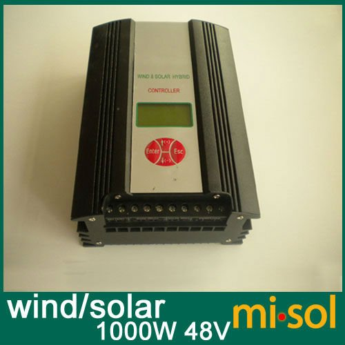 Hybrid Wind Solar Charge Controller 1000W, 48V, wind charge controller regulator stth1506dpi to 218