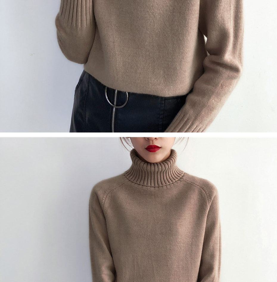 Surmiitro Sweater Female 19 Autumn Winter Cashmere Knitted Women Sweater And Pullover Female Tricot Jersey Jumper Pull Femme 13