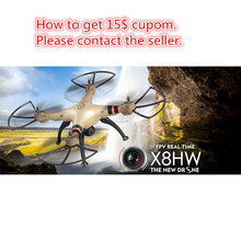 Syma X8HW drone with camera hd wifi fpv applicable dron 2.4G 6-Axis Gyro Professional RC Drone 50cm Big Quadcopter Helicopter