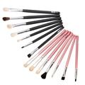 7pcs Eye Horsehair Makeup Brushes Set Cosmetic Powder Eyeshadow Eyeliner Lipstic Make up Brush Eyes Cosmetic Brushes