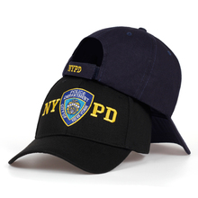 2019 alta calidad NYPD bordado gorra de béisbol al aire libre gorra de sol ajustable 100% de algodón par papá sombrero Hip Hop policía sombreros