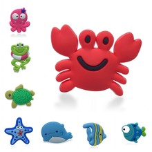 50pcs Sea Animals Shoe Charms Cute Octopus Crabs Dolphin Tortoise Shoe Buckles Accessories fit for Bracelets Kids Party Gift free shipping star war 12pcs lot shoe decoration shoe charms shoe accessories for clogs kids school gift fit wristband