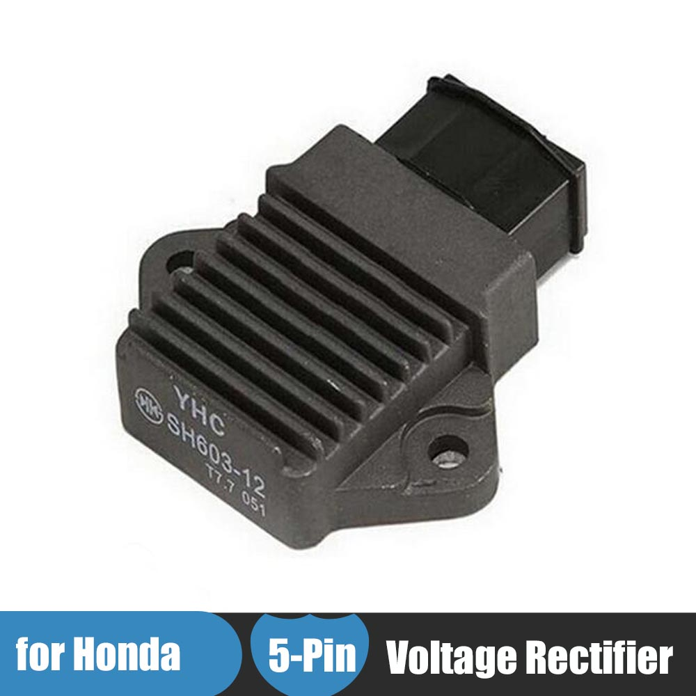 Motorcycle Bike Voltage Regulator Rectifier For Honda CB400 VTEC CB1 CBR250 CBR400 NSR250 CBR900RR CBR600 SHADOW VTR250 VFR750 free shipping for honda cbr250 cbr400 cb400 vtec cb750 refit clutch brake pump black 14mm piston pin