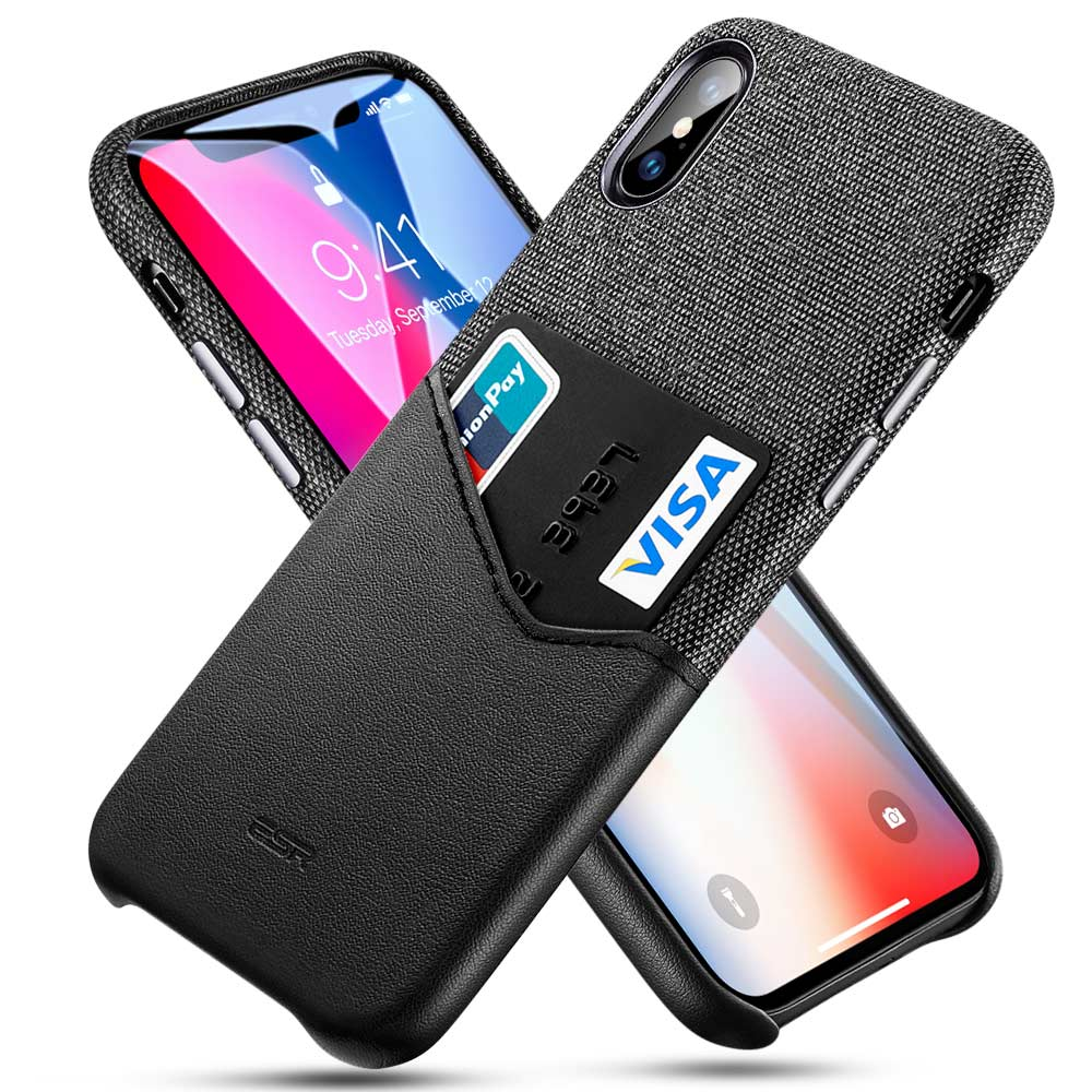 ESR Case for iPhone 11 Pro XR XS Max Cover Brand Luxury Leather Card Slot Shockproof Business Wallet Case for iPhone 2019 iphon