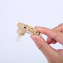 Zoss Hearing Aid Ajustável para Os Idosos/Audição Orelha-gancho de Áudio Digital Hearing Aid Cuidado Da Orelha Dispositivo de Alta qualidade Em Caixa
