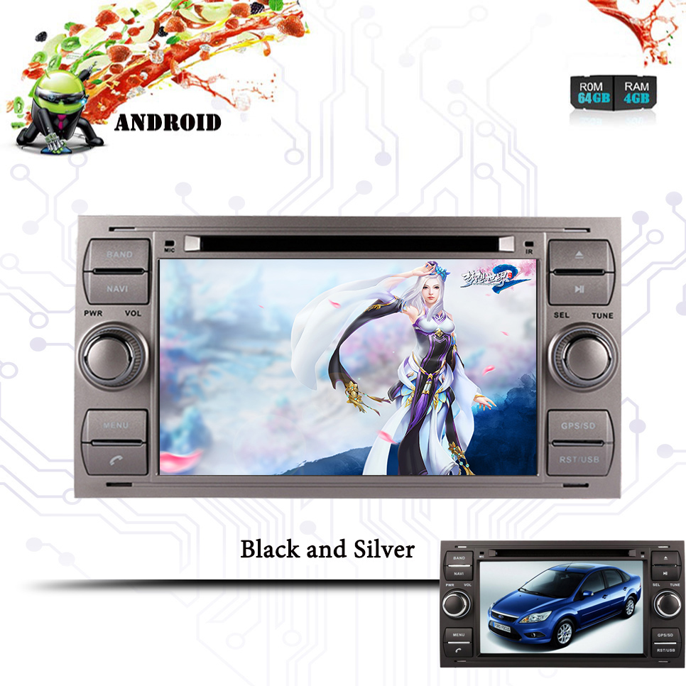 Android 10.0Car DVD Player GPS Glonass Navigation Multimedia for For <font><b>Ford</b></font> Mondeo S-max <font><b>Focus</b></font> <font><b>Auto</b></font> RDS <font><b>Radio</b></font> Audio Video Stereo image