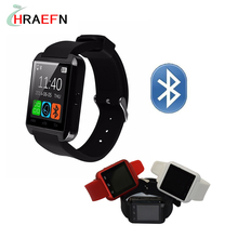 Reloj inteligente bluetooth smartwatch U8 sport montre for IOS Apple iPhone Android phone wearable devices PK GV18 GT08 DZ09 U80