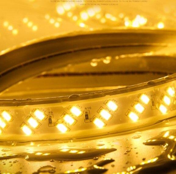 Бесплатная доставка 1 м/шт. светодио дный алюминиевый профиль для 5050 5630 светодио дный ленты бар легкий алюминиевый канала с крышкой конец кл... - 2