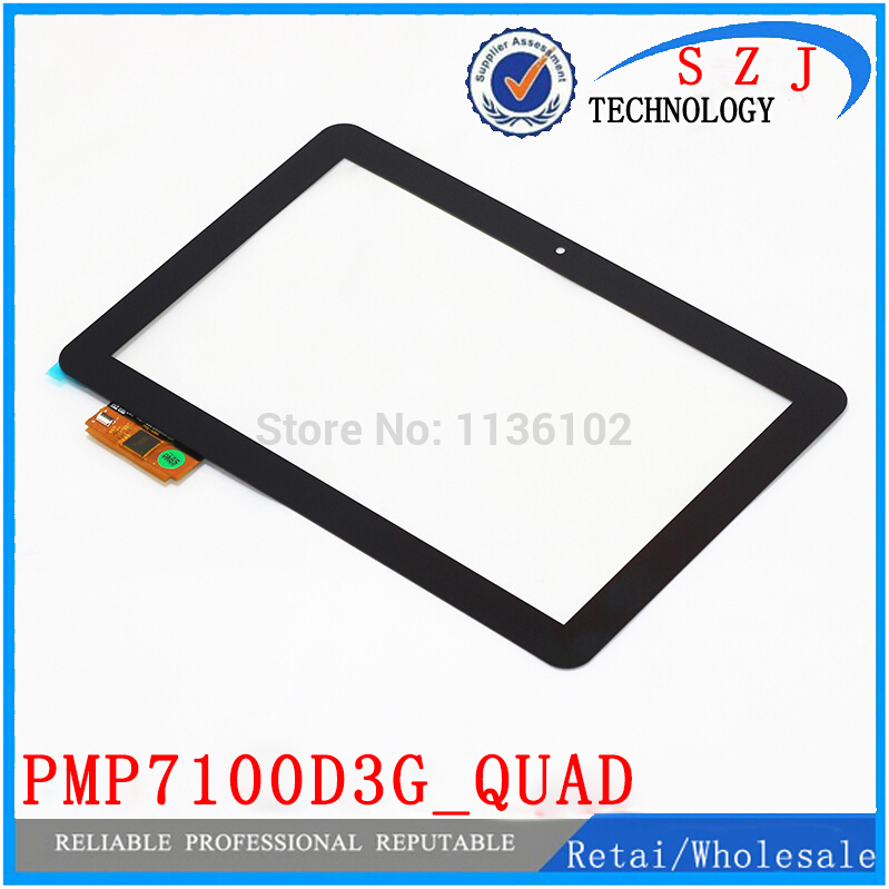 New 10.1'' inch Tablet PC protection case Touch Screen Panel for PRESTIGIO MultiPad 4 Ultimate 10.1 3G PMP7100D3G_QUAD Digitizer rx16 tx26 ju sr dh 1007a1 fpc033 v3 0 dh 1007a1 fpc033 10 1inch touch screen panel for tablet pc noting size and color