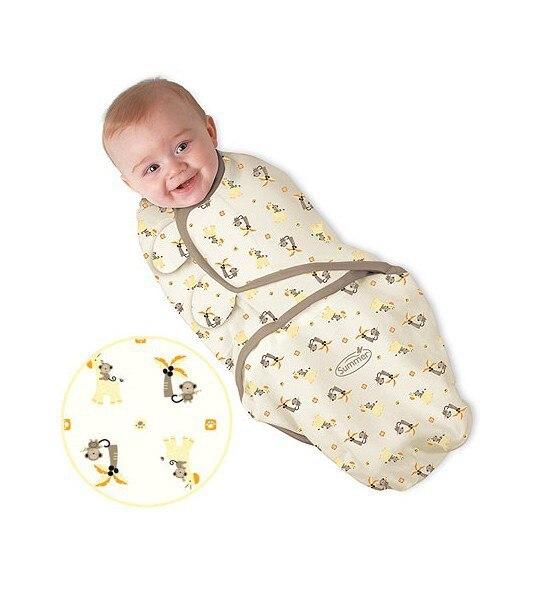 J G Chen Swaddleme Summer Cotton Infant Parisarc Newborn
