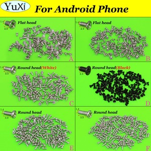 Image 1 - YuXi 6models each 1bag Phone Cross Screw 1.4 *2.0 / 1.4*2.5 / 1.4* 3.0 / 1.4*3.5 mm For Android for Huawei for Xiaomi etc