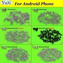 Yuxi 6 modelos cada 1 saco telefone parafuso transversal 1.4*2.0/1.4*2.5/1.4*3.0/1.4*3.5mm para android para huawei, xiaomi etc