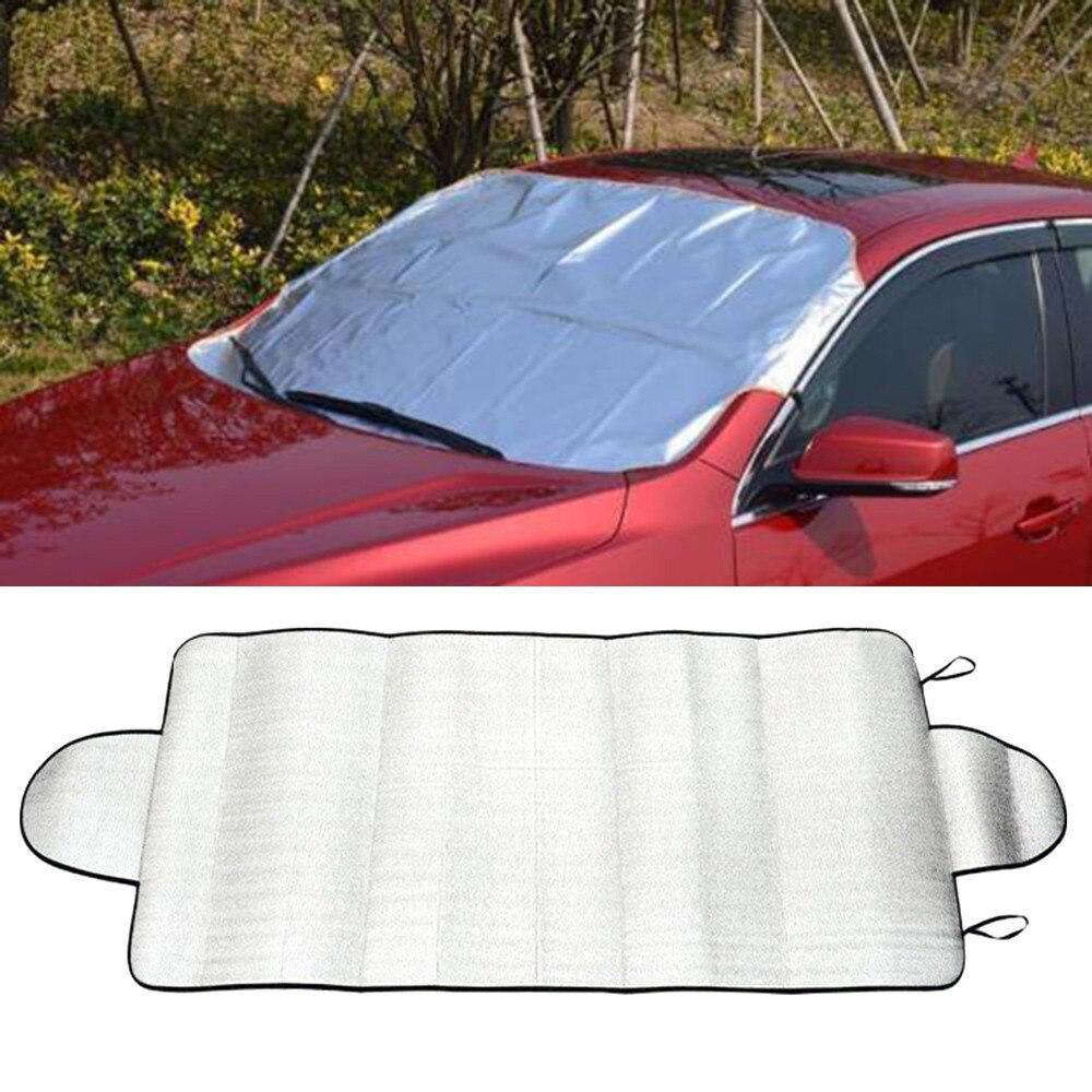 Солнцезащитный козырек для автомобиля, защита от снега и льда, солнцезащитный козырек для задней крышки лобового стекла, блочные щиты A1 - Цвет: A
