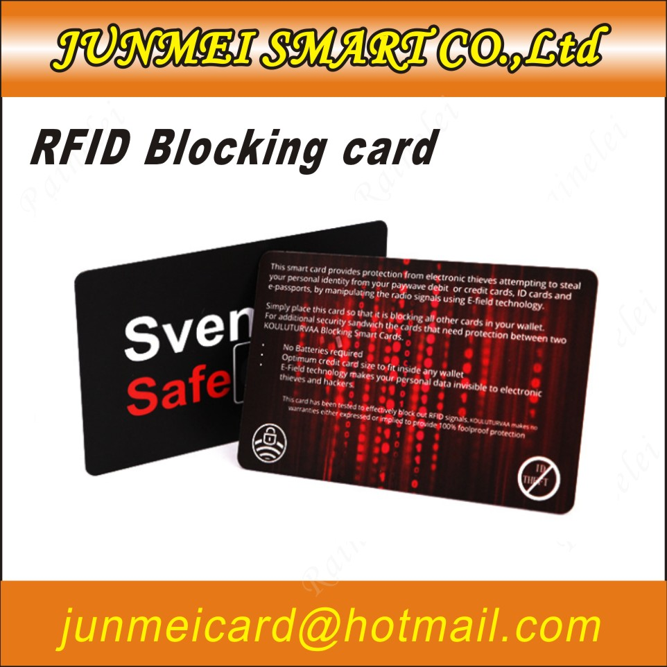 RFID Blocking Card Protector Paypass Contactless Card Holder 100 protection LOT