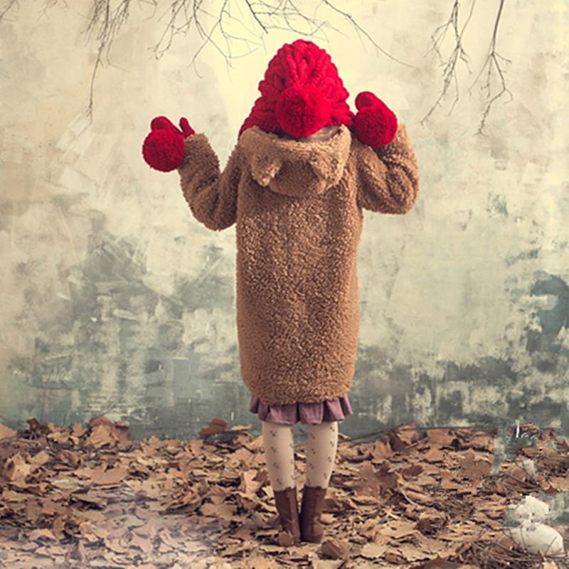 Chapeau avec écharpe et gants mode hiver
